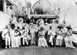 King George V and Queen Mary on board P&O's MEDINA in 1911