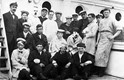 Wounded soldiers on board hospital ship PLASSY, 1916