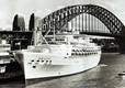 ORIANA on her maiden call at Sydney, 20th January 1961.