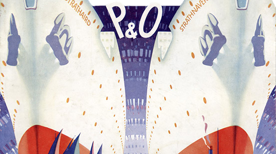 Two of P&O's Five White Sisters launched in the 1930s