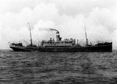 COCONADA at anchor