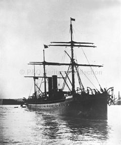 MASSILIA on her maiden voyage