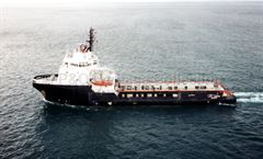 Aerial view of LADY SANDRA