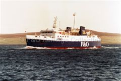 ST. OLA at sea