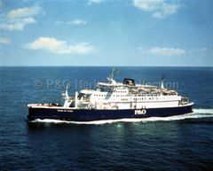 PRIDE OF AILSA at sea
