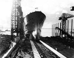 Launch of ORIANA at Barrow-in-Furness