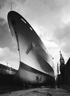 CANBERRA in dry-dock