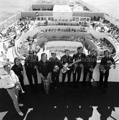 Musicians on board CANBERRA