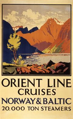 Orient Line Cruises - Norway and Baltic