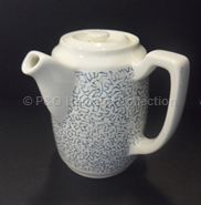 Coffee pot with side handle in 'Maze' design