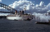 HIMALAYA arriving in Sydney