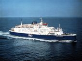 PRIDE OF RATHLIN at sea