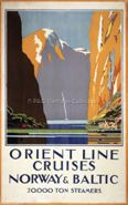 Orient Line Cruises - Norway & Baltic