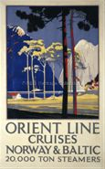 Orient Line Cruises, Norway & Baltic Steamers