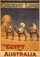 Orient Line to Egypt and Australia