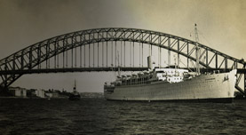 P&O themes - Post-War Emigration to Australia