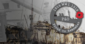 P&O in WW1  | P&O Heritage - 175 Years in 2012