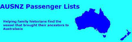 AUSNZ Online Guide to Passenger Lists
