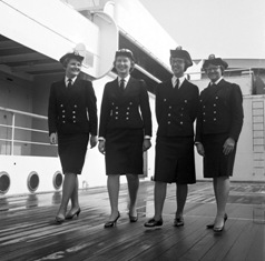 Crew onboard ORCADES © P&O Heritage Collection