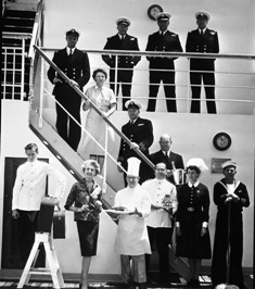 Crew onboard ORONSAY © P&O Heritage Collection