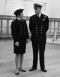 P&O Commodore and Purser onboard ORIANA © P&O Heritage Collection