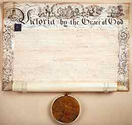 The Royal Charter dated 31st December 1840