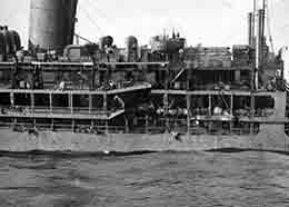 VICEROY OF INDIA was torpedoed and sunk by a German submarine on the 11th November 1942